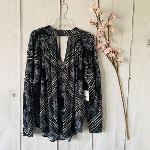 NWT / FREE PEOPLE / WALKING ON A DREAM TOP SZ S